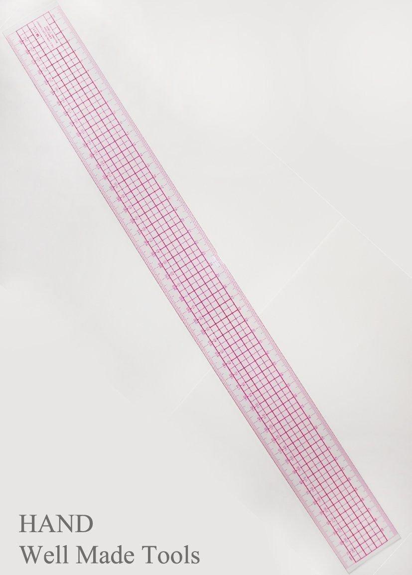 HAND /® Flexible Grader Lineal Millimeter und Zentimeter Skalen M111-50cm