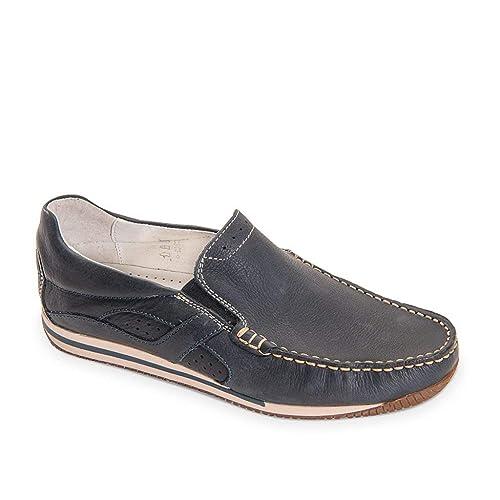 VALLEVERDE Scarpe Uomo Mocassini in Pelle blu 20801-BLU  Amazon.co.uk   Shoes   Bags b4998b4ef92