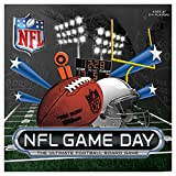 Full of action, NFL Game Day helps players learn the rules of football while concocting savvy game-winning strategies. During the game, players use cards and dice to move down the football field toward the team-branded end zones. All 32 NFL t...