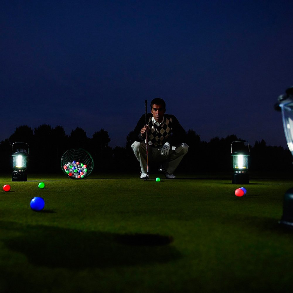 LED Glow Golf Balls, Personalized Practice Light up Golf Ball Glow in Dark for Women Men, Colored Novelty Funny Night Golf Balls Bulk (Pack of 6) by ZLIXING (Image #6)