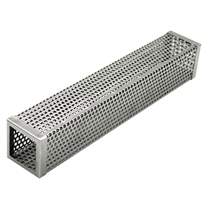 Amazon.com: AIWANT - Caja de tubo para ahumar, perforada y ...