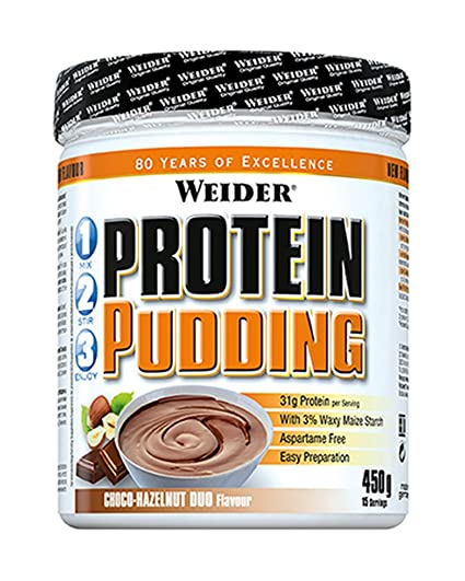 Weider Protein Pudding Chocolate Avellana - 450 gr