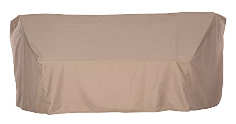 Very best Amazon.com : SunPatio Outdoor Crescent Curved Sectional Sofa Cover  EJ21