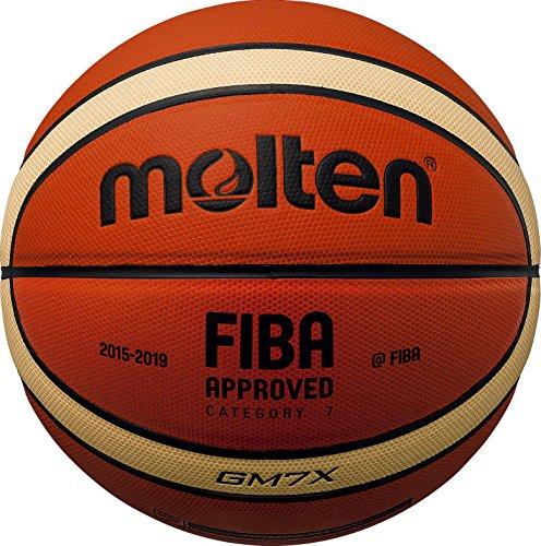 BGM6 X Composite Leder FIBA Match-Basketball Gr. 6 Tan Grö ß e 6 Molten
