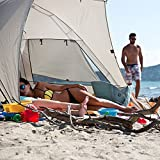 Kau-Kohu-4-Person-Easy-Up-Beach-Tent-for-the-Entire-Family-Certified-UPF-50-Protection-Blocks-out-98-Percent-of-UV-Sun-Rays