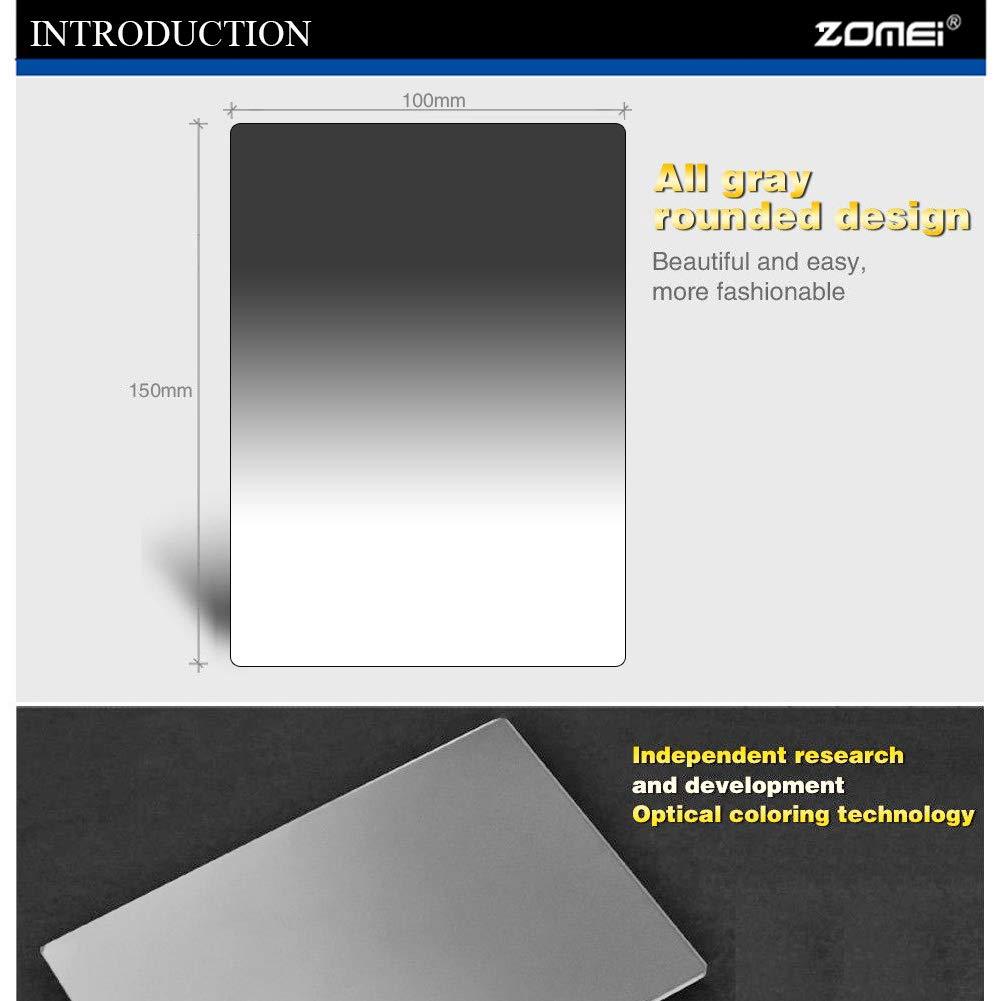 ND8 ND16 ND4 ZOMEI Optisches Neutral-Vier-Graufilter-Set 100 mm x 150 mm ND2