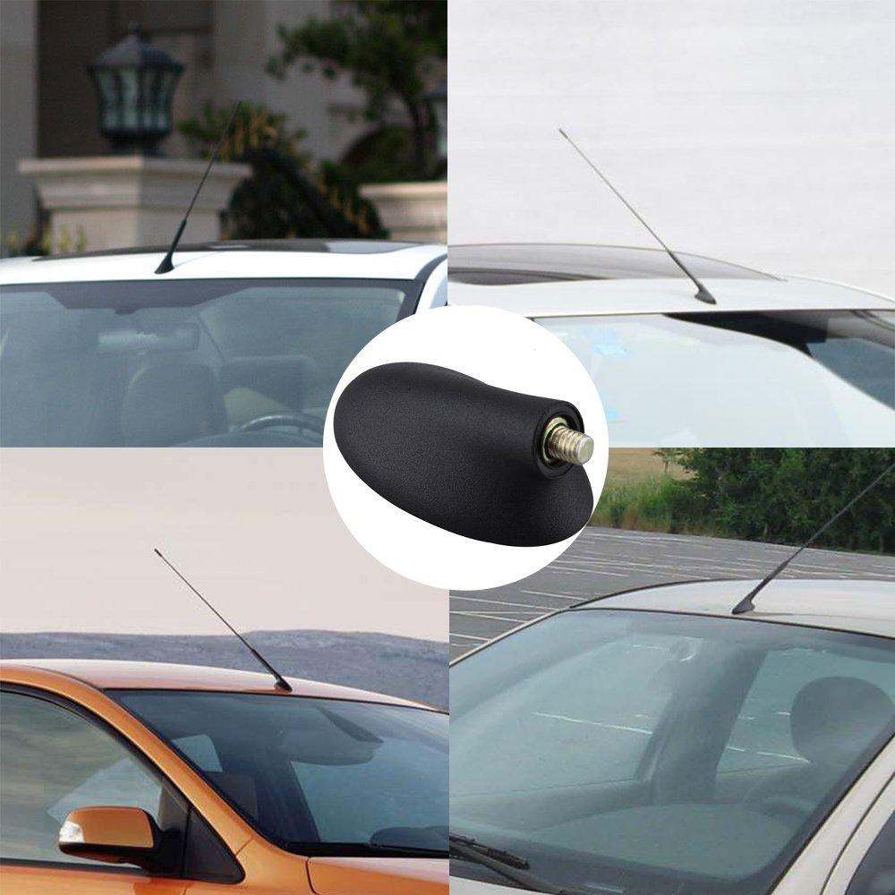 KKmoon Antena Base para Ford Focus coche AM//FM Antena de techo Base Soporte de techo para Ford Focus Mercury Cougar