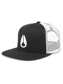 Nixon Deep Down Trucker Hat Black/White/Black One Size: Amazon.es: Deportes y aire libre