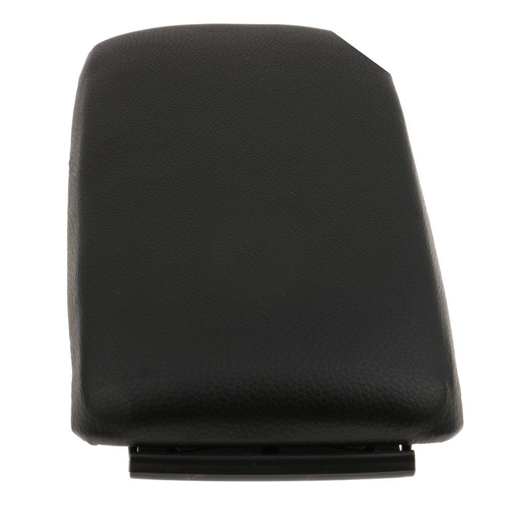 Shiwaki Tapa Negra del Reposabrazos del Centro De La Consola para Audi A6 C5 2000-2006