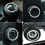 JessicaAlba Car Engine Start Stop Ignition Key Ring Car Auto Interior Decoration for Kia K2 K5 Rio Kia Optima Sportage Soul Sorento Forte