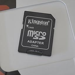 Kingston SDC4/8GB, Tarjeta micro SDHC de 8 GB, Negro ...