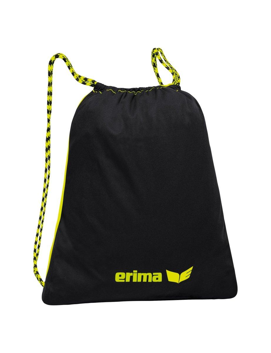 erima Turnbeutel Sacca, 50 cm, Giallo (Neon Gelb/schwarz) 7230718