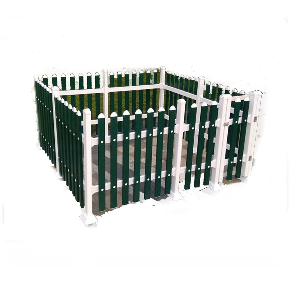 ドア木製フェンス,犬ペット ケージ木 犬大型犬室内用犬の木枠の家 屋外ペット箱安全庭園で網-D 100x100x70cm(39x39x28inch) B07CVSSVKV 100x100x70cm(39x39x28inch) D