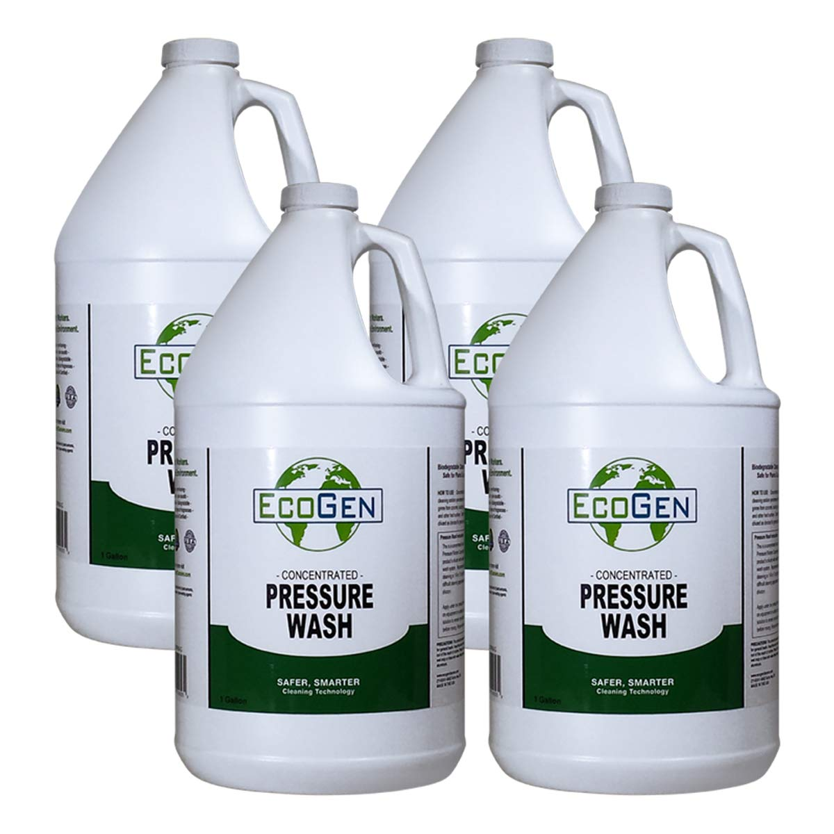 EcoGen ECOPRW-GCS Pressure Washer Cleaner Concentrate, 1 gal (Pack of 4)