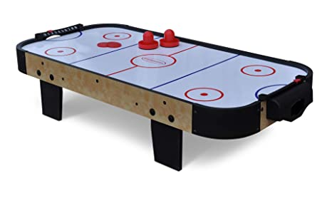 Gamesson Kids Buzz Mesa de air hockey, 0,9 m, color blanco ...