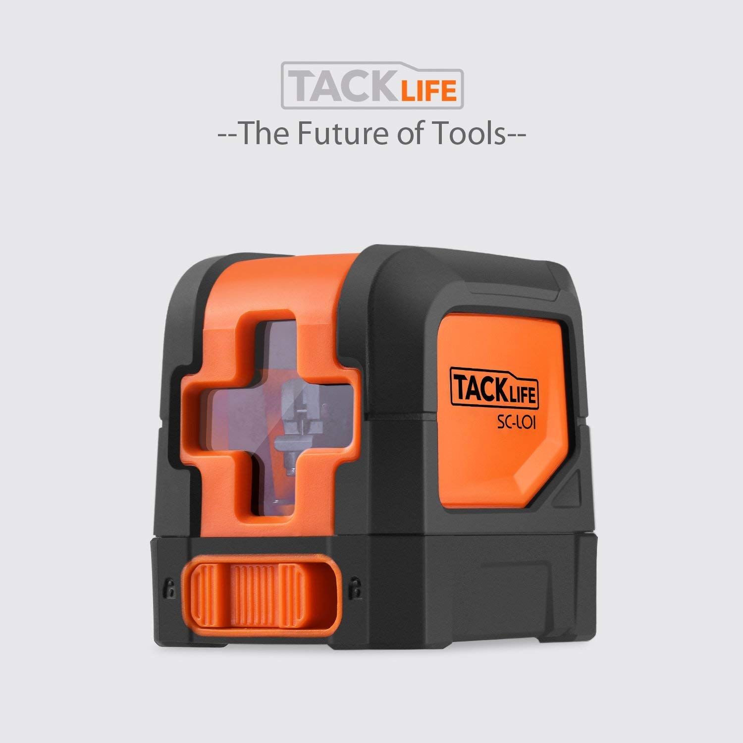 Tacklife SC-L01-50 Feet Laser Level Self-Leveling Horizontal and Vertical Cross-Line Laser - Magnetic Mount Base and Carrying Pouch, Battery Included by TACKLIFE (Image #8)