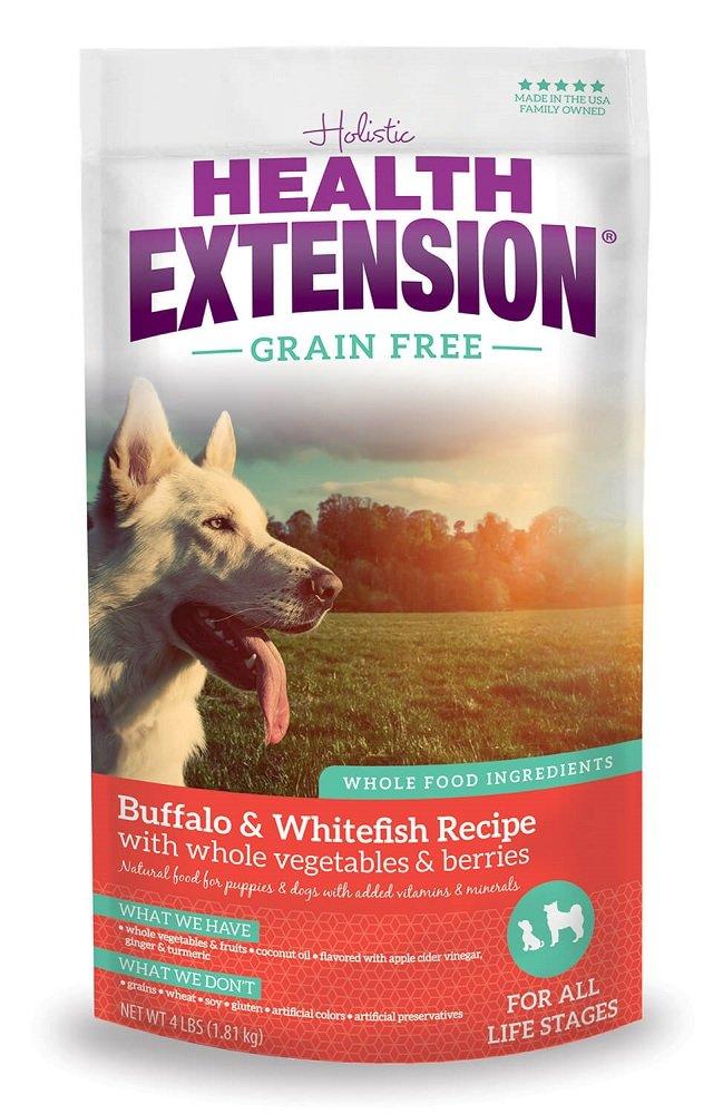 80%OFF Health Extension Buffalo & Whitefish Grain Free - 10lb