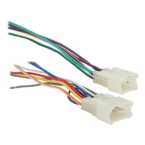 61ifTKeRTLL._SX466_ amazon com metra 70 1761 radio wiring harness for toyota 87 up
