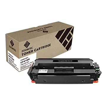 Zoomtec Compatible 410x Cf410x Toner Cartridge Work For Hp Color