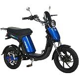 GIGABYKE GROOVE 48V 750W Eco-Friendly Electric Moped Scooter E-Bike- Blue