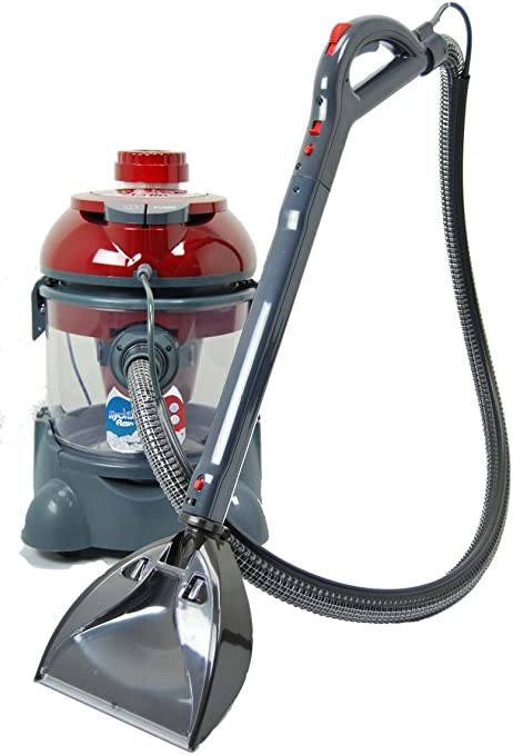Amica Hydra Rain Plus – Aspiradora con filtro de agua y lavado, aspiración húmeda, dispositivo de extracción, limpiador de tapicería, limpiador de alfombras con HEPA, similar a Aqua Laser y Arnica Bora: