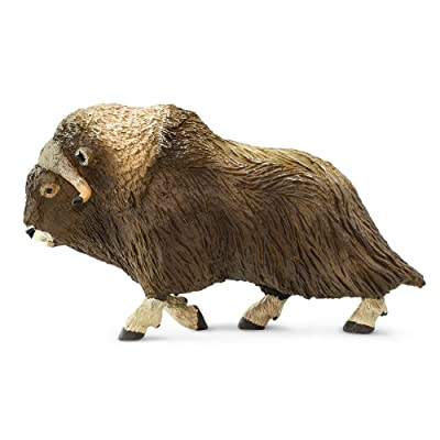 Safari 100095 North American Wildlife Muskox Minature: Toys & Games