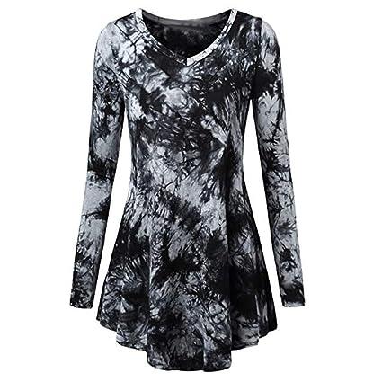 Mujer Blusa tops manga larga Casual traje de verano y Otoño,Sonnena La camiseta para