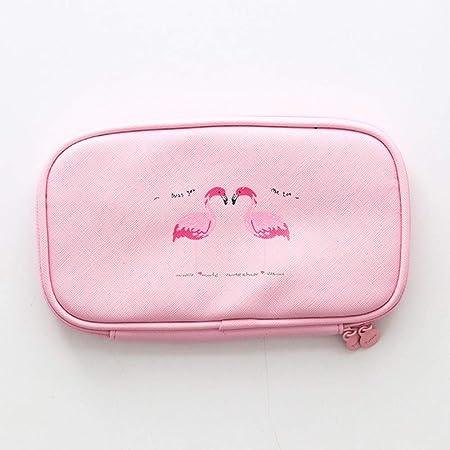 WanTo 1Pcs Kawaii Estuche de lápices Dibujos Animados Flamingo Estuches de Regalo Caja de lápices Escolares Estuche de lápices Bolso de lápices Útiles Escolares Papelería, pinkliangzhi: Amazon.es: Hogar