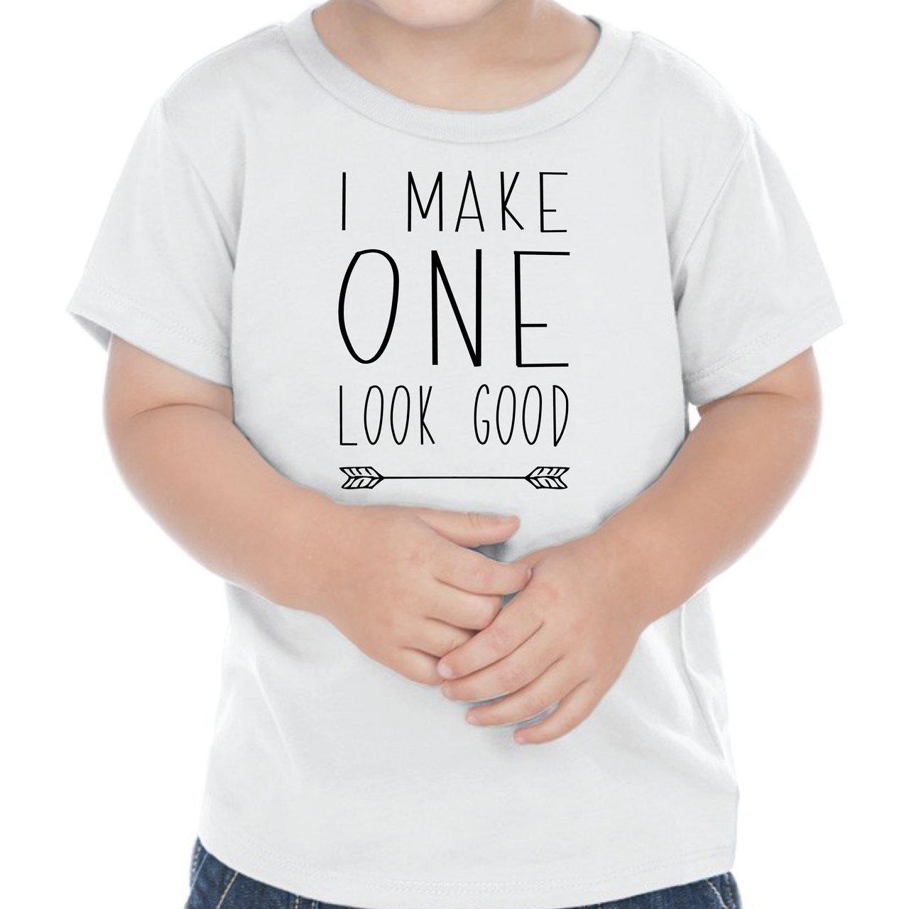 First Birthday Outfit Boy One Year Old Boy Birthday T-Shirt