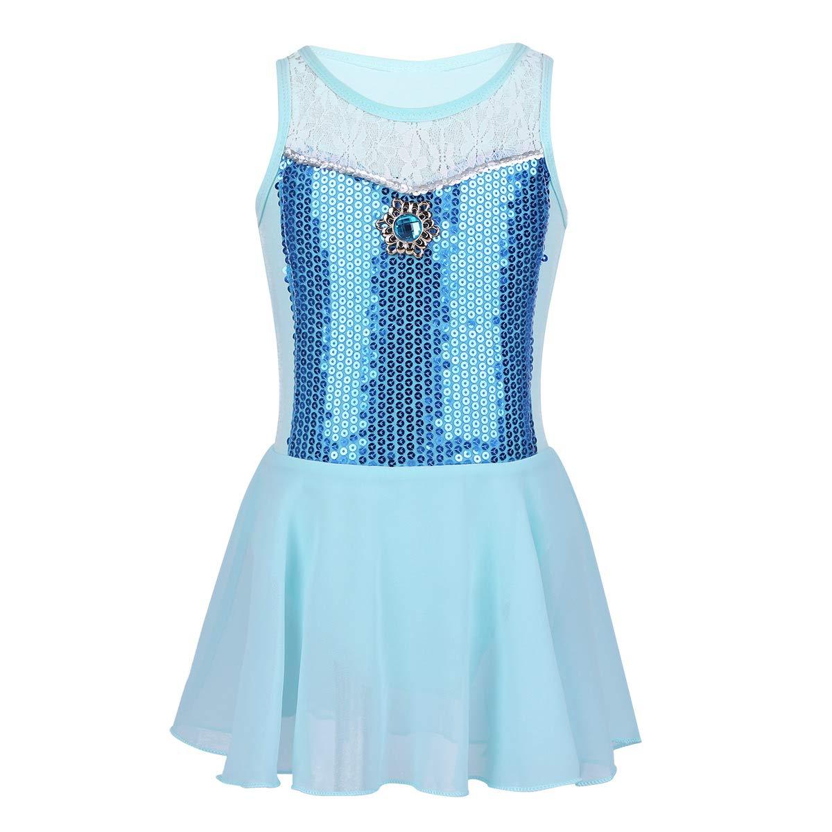 YOOJIA DRESS ガールズ B07LBLRPS8  ブルー 43528