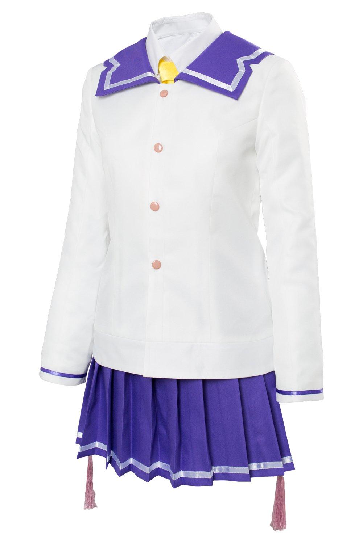 Katana Maidens Toji No Miko Renpu Girls Schuluniform Kleid Kleid Kleid Cosplay Kostüm Damen XXXL bd9644