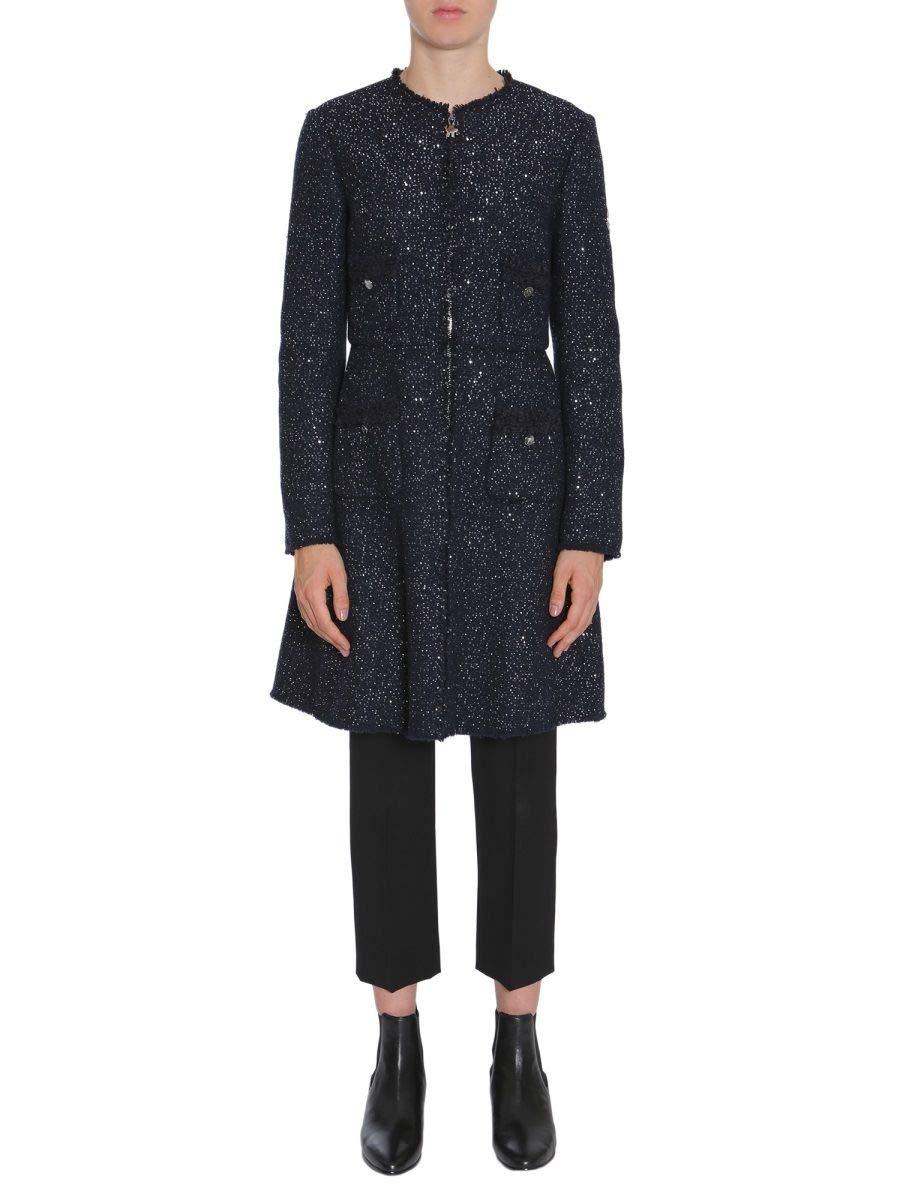 Moncler Women's 473270013512780 bluee Wool Coat