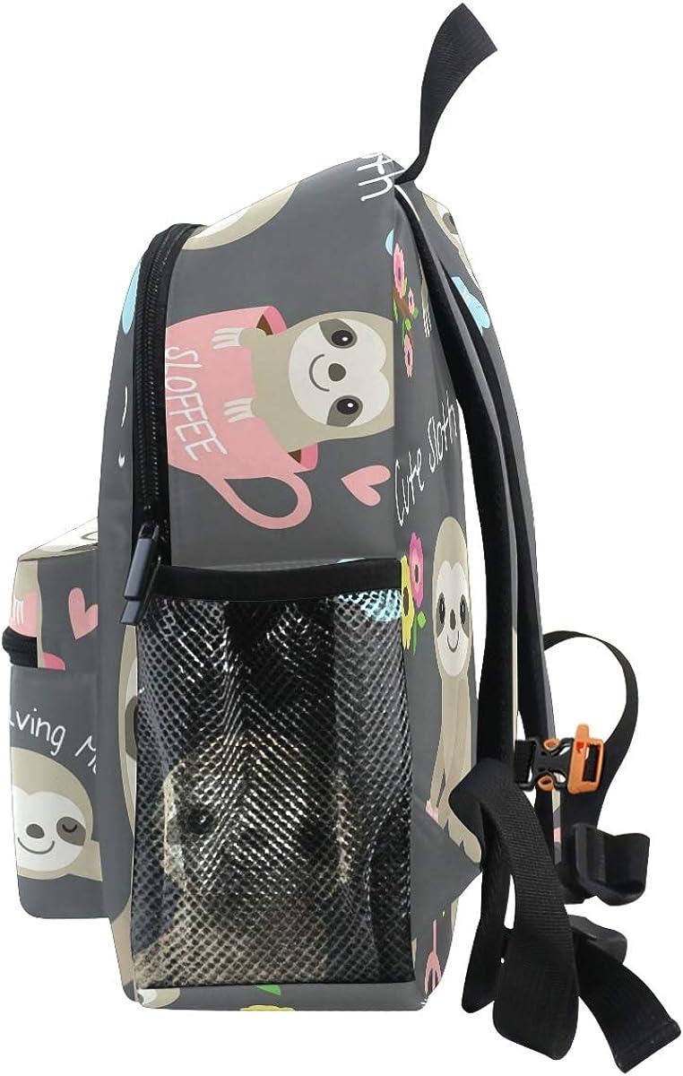 Sunflowers Backpacks for Kids Girls Yellow Flowers Toddler Bookbag School Bags