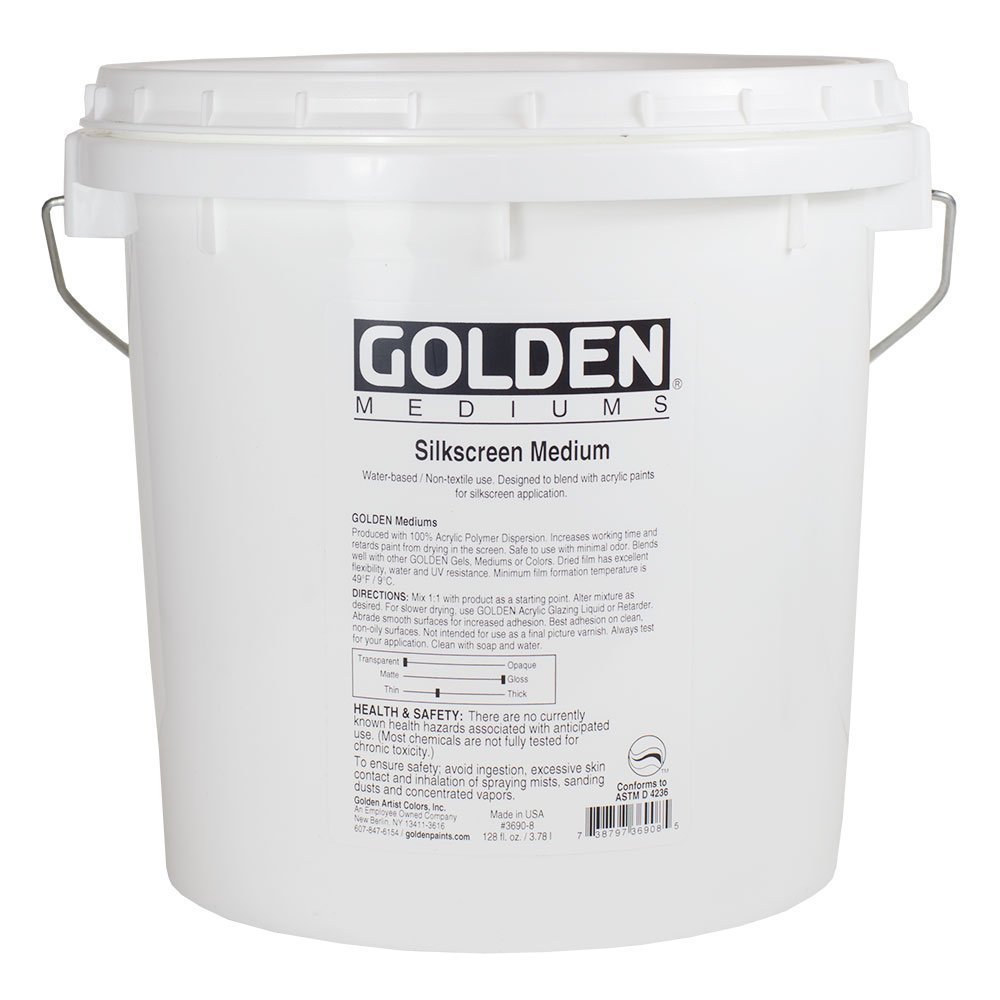 Golden Acrylic Silkscreen Medium - 128 oz Jar GOLDEN ARTIST COLORS AG3690378
