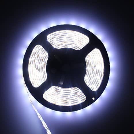 Daylight Strip Lights Amazon 12v flexible led strip lights led tape daylight white 12v flexible led strip lights led tape daylight white waterproof 300 units 3528 leds light strips audiocablefo