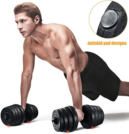 Details about  /2Pcs Portable Women Fitness Dumbbell Filling Domestic Yoga Training Device New