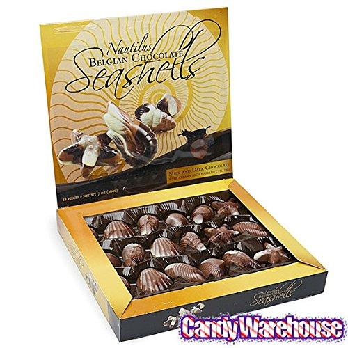 Nautilus Belga - Estuche para conchas de chocolate (18 ...