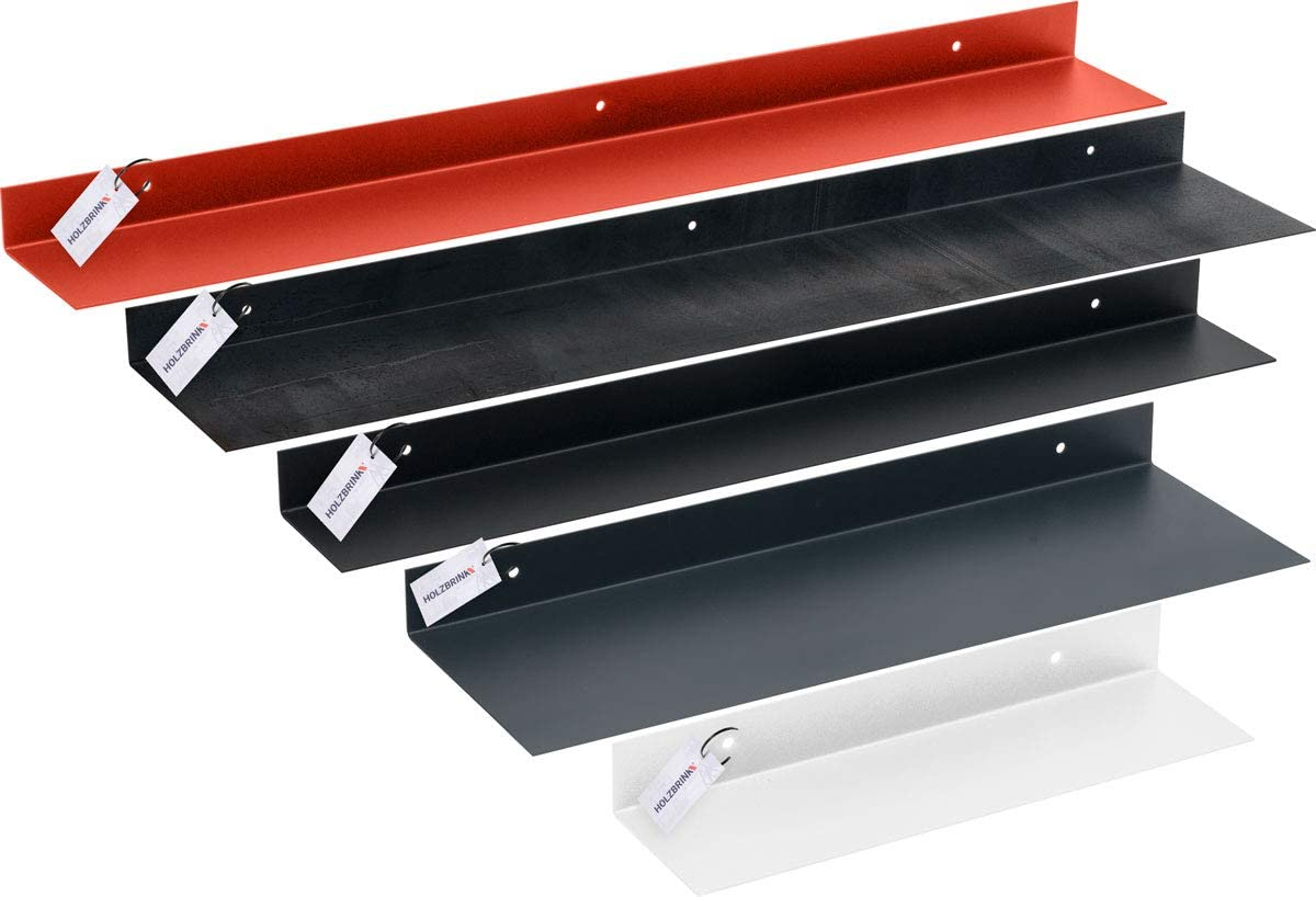 Holzbrink Metall Wandregal Schweberegal Hangeregal L Form