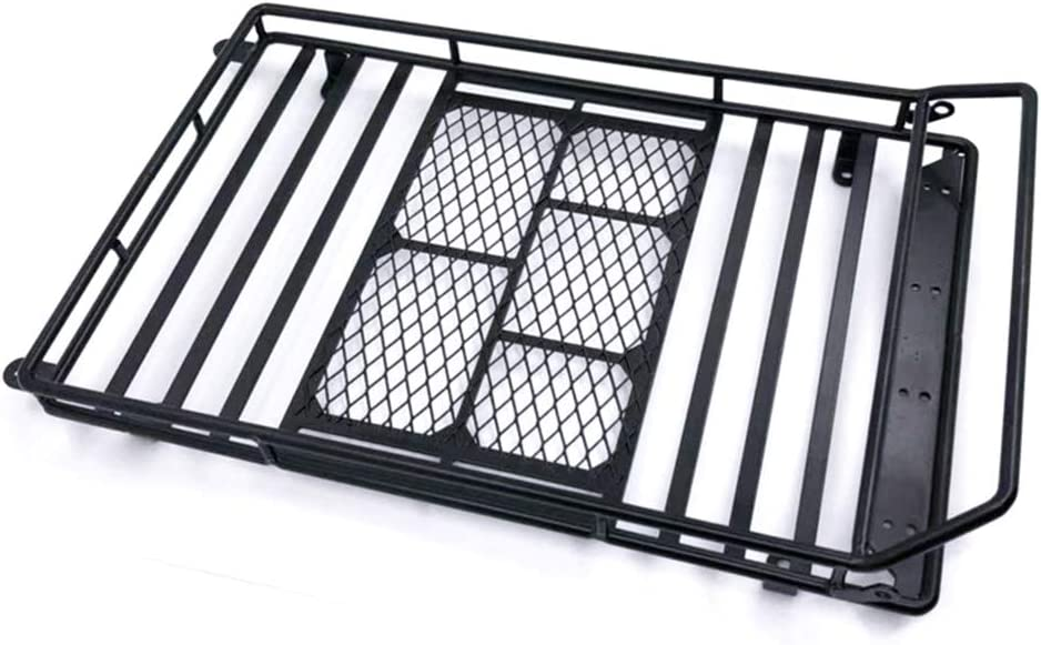 Metal RC Crawlers Roof Rack Luggage Carrier for RC4WD D90 Replacement Parts
