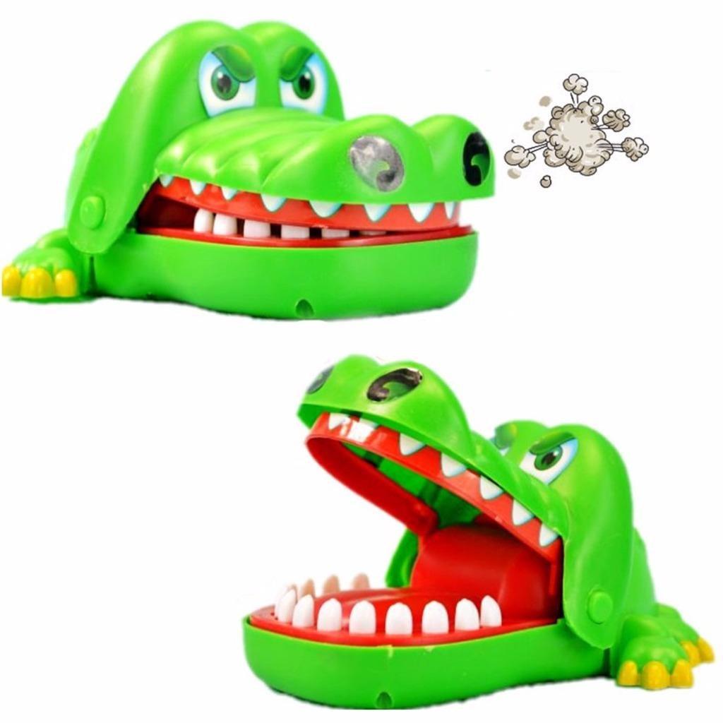 Crocodile Mouth Dentist Bite Finger Game Fun Play Toy Kid Children Toys ^p LYNS