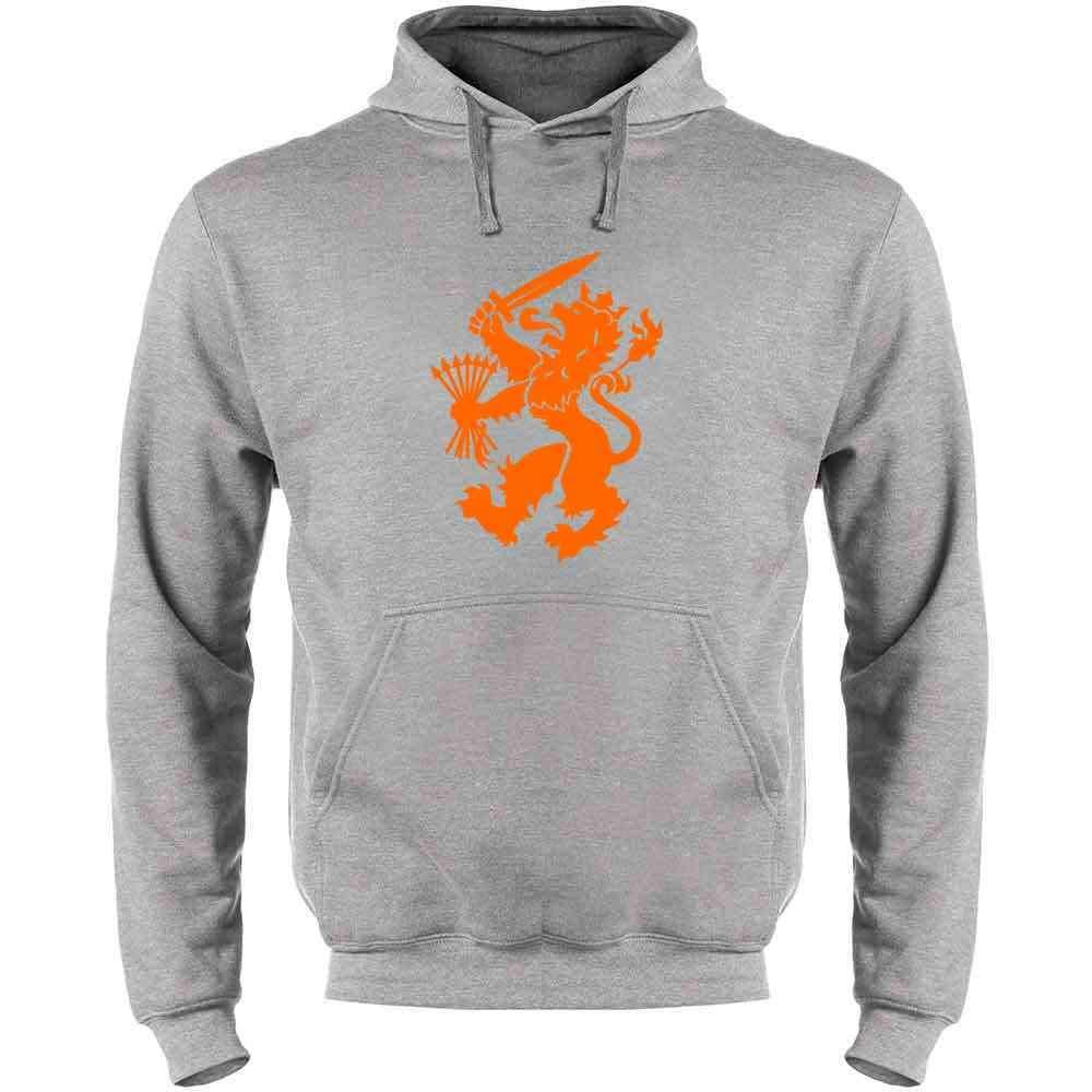 Holland Soccer Dutch Lion National Team Crest Mens Fleece Hoodie Sweatshirt