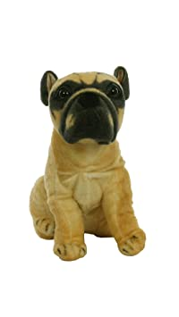 Aarushi Stuffed Soft Doggy Toy for Kids Multicolor