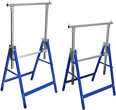 Furnituredeals escalera andamio Set de 2 andamios de caballete ...