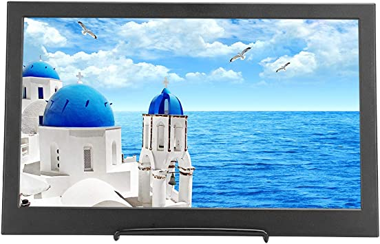 Ginyia Pantalla, Monitor de 14 Pulgadas, Pantalla HDMI 1366x768 TFT con Monitor Doble Mini HDMI HD, para PS4 para la Serie Raspberry PI: Amazon.es: Electrónica
