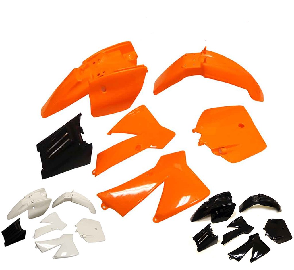 Plastic Fairing Fender Kit for KTM 50 SX 50 Junior 50cc SX (Black)