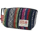 Rough Enough Men Women Vintage Fancy Folk Small Pen Case PouchMobile Pouch Cosmetic Bag