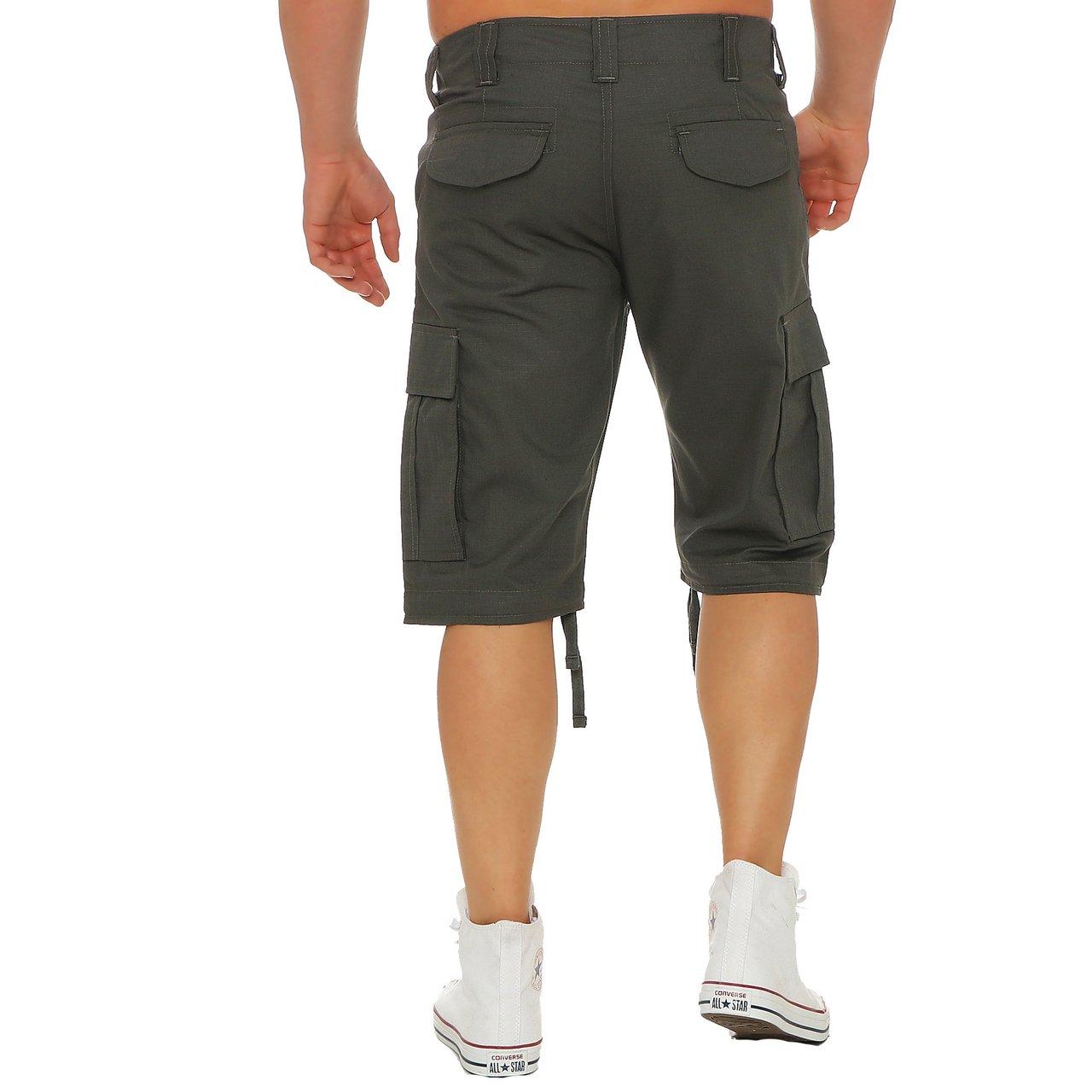 Finchman Cargo Trouser Short F1002 Herren Bermuda Kurze Hose Freizeit Shorts:  Amazon.de: Bekleidung