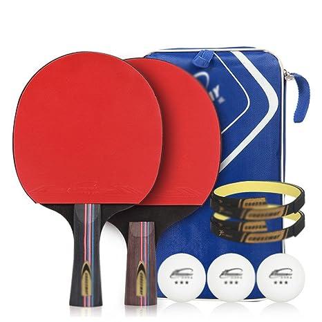 xianw Raqueta de Tenis de Mesa - Paquete Premium 2 de Paddle ...