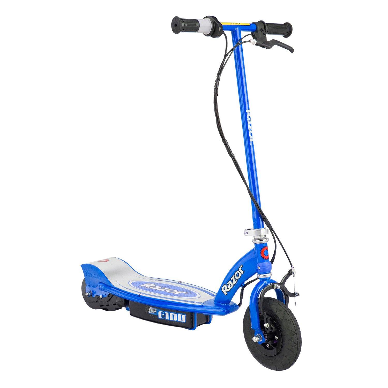 amazon com razor e100 electric scooter blue sports scooters rh amazon com 49Cc Scooter Wiring Diagram Chinese Electric Scooter Wiring Diagram