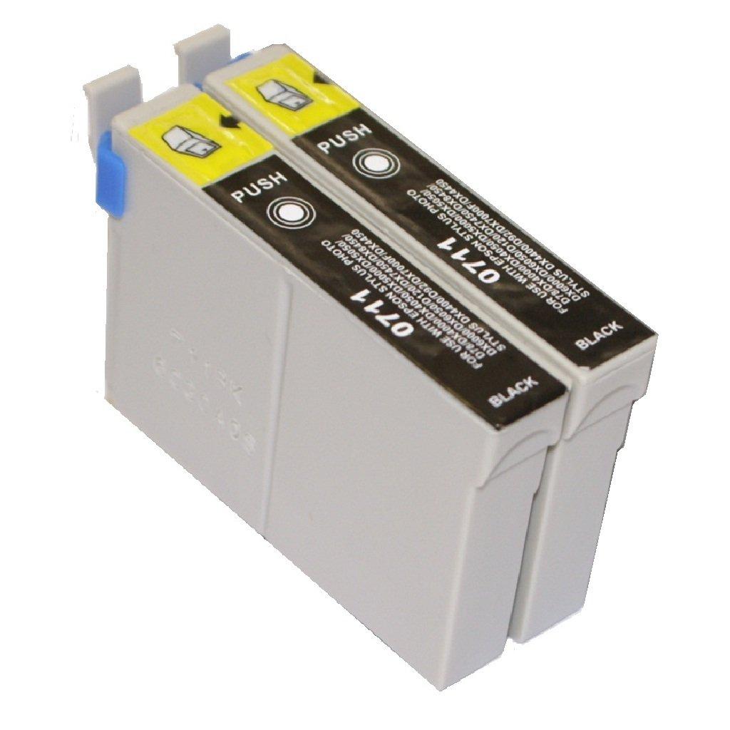 T 711 x2 - EPSON Cartucho de tinta COMPATIBLE para EPSON Stylus ...